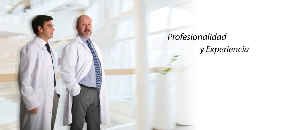 Profesionalidad y Experiencia